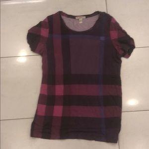 Women's Burberry Brit t shirt medium